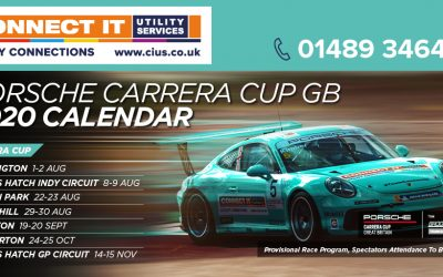 Back on track porsche carrera cup gb 2020 provisional calendar